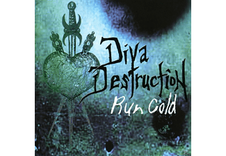 Diva Destruction - Run Cold - (CD)