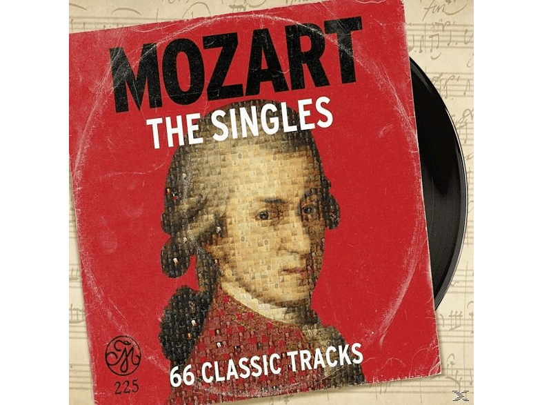 VARIOUS - Mozart-The Singles-66 Classic Tracks [CD]