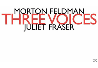 Juliet Fraser - Three Voices - (CD)