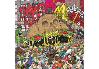 Insanity Alert - Moshburger - (CD)