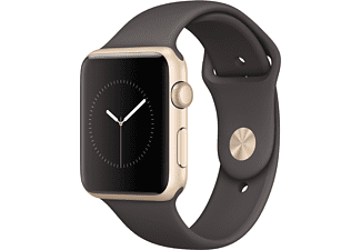 APPLE Watch Series 1 42mm goud aluminium / cacao sportbandje