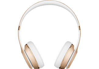 BEATS Solo 3 Wireless, On-ear Kopfhörer, Headsetfunktion, Bluetooth, Gold