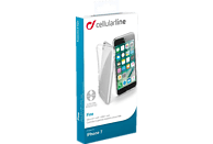 CELLULAR LINE FINE , Backcover, Apple, iPhone 7, iPhone 8, Thermoplastisches Polyurethan, Transparent