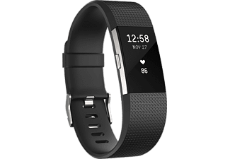 FITBIT Activity tracker Charge 2 Zwart Small (FB407SBKS-EU)