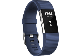 FITBIT Activity tracker Charge 2 Blauw Large (FB407SBUL-EU)