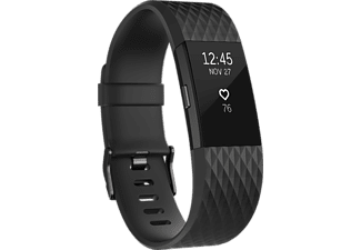 FITBIT Activity tracker Charge 2 Edition Gunmetal Black Large