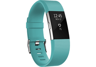 FITBIT Activity tracker Charge 2 Turkoois Small (FB407STES-EU)