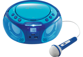 LENCO Radio CD portable Bleu (SCD-650BU)