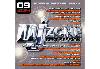 Dj Zone & Various - DJ Zone Best Session 09/2014 - (CD)