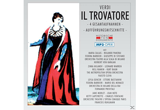 VARIOUS - Il Trovatore-Mp 3 - (MP3-CD)
