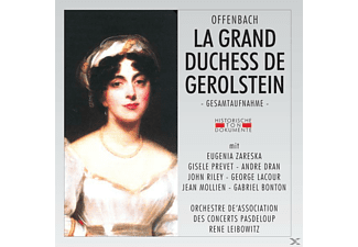 ORCH.DE'ASSOCIATION DES CONCERTS PASDELOUP - La Grand Duchess De Gerolstein - (CD)