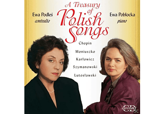 Ewa Poblocka, Ewa Podles - A Treasury of Polish Songs - (CD)