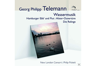 Philip Pickett, Philip/nlc Pickett - Wassermusik/Hamburger Ebb/Alster-Ouv./+(Audior) - (CD)