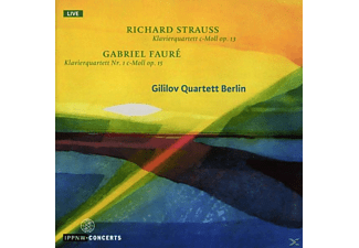 Gililov Quartett Berlin - Richard Strauss,Gabriel Fauré - (CD)
