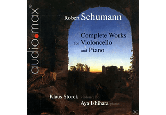 Klaus Storck, Aya Ishihara - COMPLETE WORKS FOR VIOLONCELLO AND - (CD)