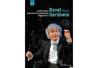 Reeves/Rattle/BPO - Ravel Meets Gershwin - (DVD)