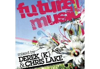 VARIOUS - FUTURE MUSIC FESTIVAL 2007DEREK K & CHRIS LAKE,MIXED BY - (CD)