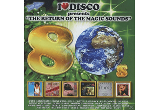 VARIOUS - I Love Disco Present The Return Of The Magic Sounds 80s - (CD)