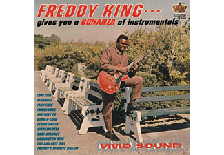 Freddie King - Freddie King Gives You A Bonanza Of Instrumentals - (Vinyl)