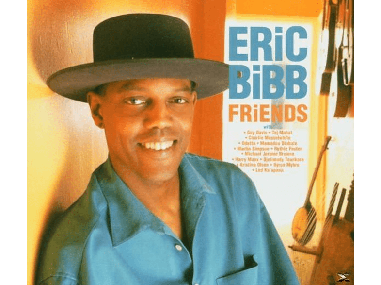 Eric Bibb - Friends [CD]