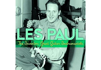 Les Paul - The Inventor:Great Guitar Instrumentals - (CD)
