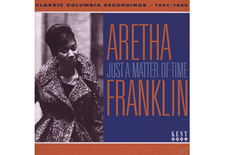 Aretha Franklin - Just A Matter Of Time-Classic Columbia Recording - (CD)