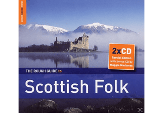 VARIOUS - Rough Guide to Scottish Folk - (CD)