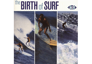 VARIOUS - Birth Of Surf - (CD)