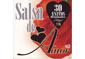 Div Salsa, VARIOUS - Salsa De Amor Vol.3 [CD]