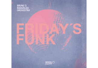 Bruno's Boogaloo Orchestra - Friday's Funk - (CD)