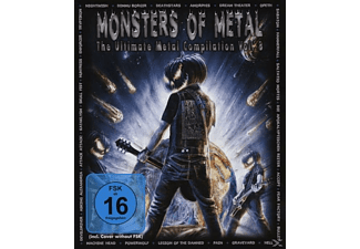 VARIOUS - Monsters Of Metal Vol. 8 - (Blu-ray)