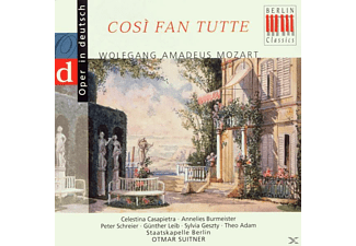 VARIOUS, Sb, Adam, Suitner, Casapietra - Cosi Fan Tutte (Qs, Deutsch) - (CD)