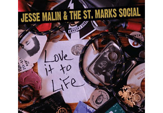 Jesse & The St.Marks Social Malin - Love It To Life - (CD)