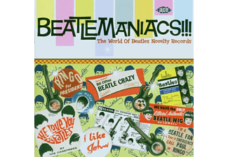BEATLES.=TRIBUTE= - Beatlemaniacs!-World Of Beatles Novelty Rec. - (CD)