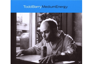 Todd Barry - Medium Energy - (CD)