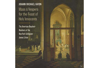 Solisten Vom New York Collegium American Boy Chor, Litton/American Boychoir/+ - Mass & Vespers For The Feast Of Holy Innocents - (CD)