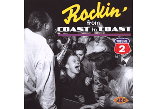 VARIOUS - Rockin' From Coast To Coast Vol.2 - (CD)