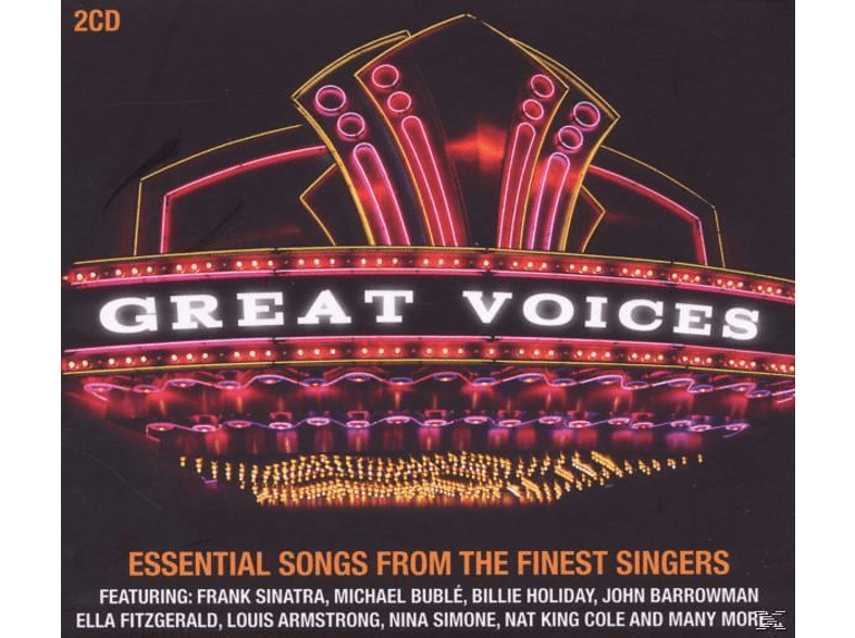 VARIOUS - Great Voices-The Finest Singers [CD]
