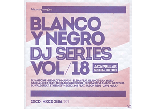 VARIOUS - Blanco Y Negro Dj Series Vol.18 - (CD)