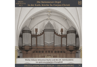 VARIOUS - Die Steinmeyer-Orgel in St.Corpus Christi,Berlin - (CD)