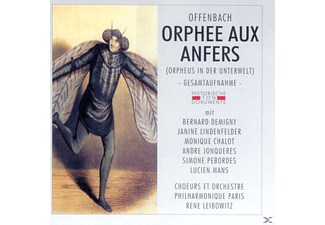 Choers Et Orch.Phil.Paris - Orphee Aux Anfers - (CD)