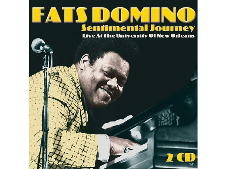 Fats Domino - Sentimental Journey-Live At The Universi [CD]