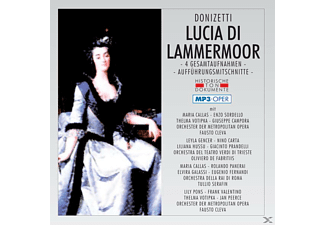 VARIOUS - Lucia Di Lammermoor-Mp 3 - (MP3-CD)