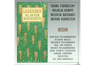Backhaus - Legenden-Cherkassky/Kempff - (CD)