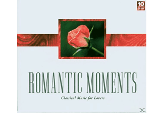 VARIOUS - Romantic Moments - (CD)