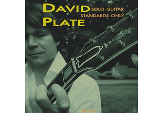 David Plate - Solo Guitar | Standards Only - (CD)