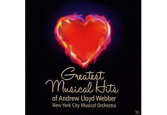 New York City Musical Orchestra - Greatest Musical Hits Of Andrew Lloyd Webber - (CD)