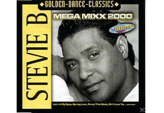 Stevie B - Mega Mixx 2000 - (Maxi Single CD)