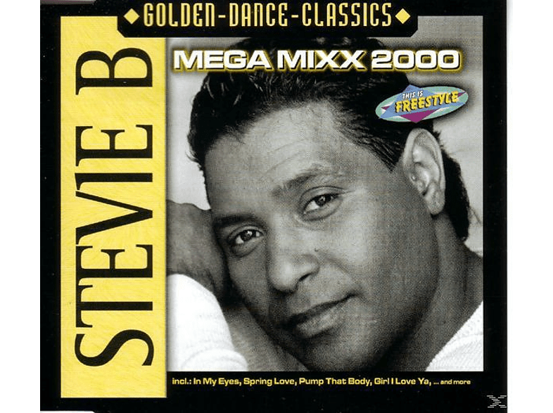 Stevie B - Mega Mixx 2000 [Maxi Single CD]