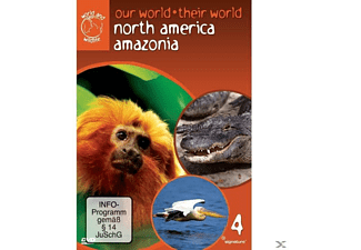 NORTH AMERICA,AMAZONIA - OUR WORLD THEIR WORLD - (DVD)